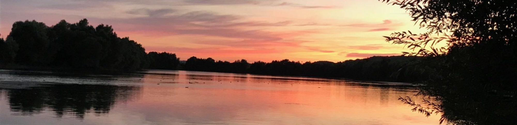 Lac soir